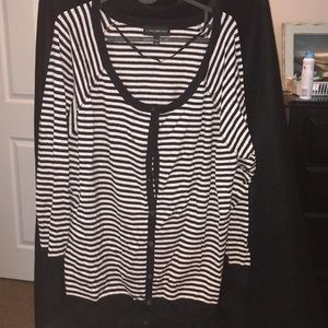 Lane Bryant Button Down Cardigan with sparkles